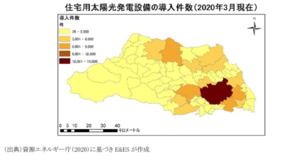 図2_埼玉県下の住宅用太陽光発電設備の導入件数